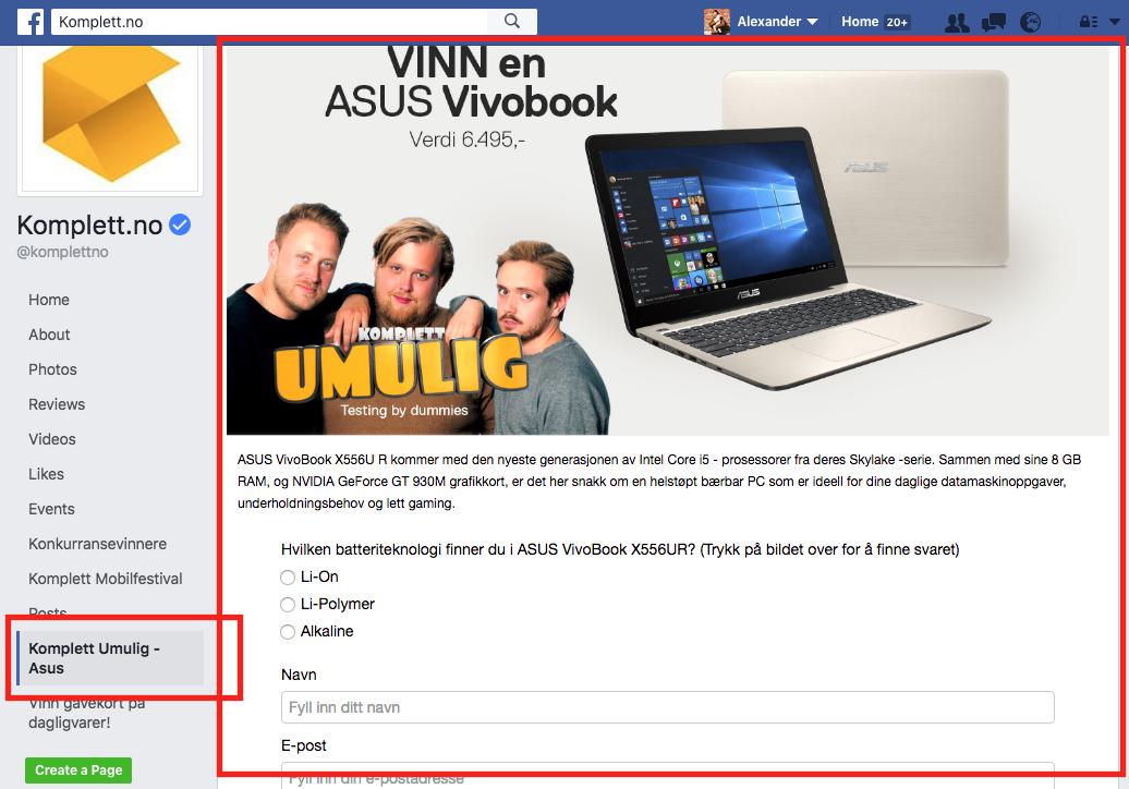 24SevenSocial Facebook tab apps – widget list