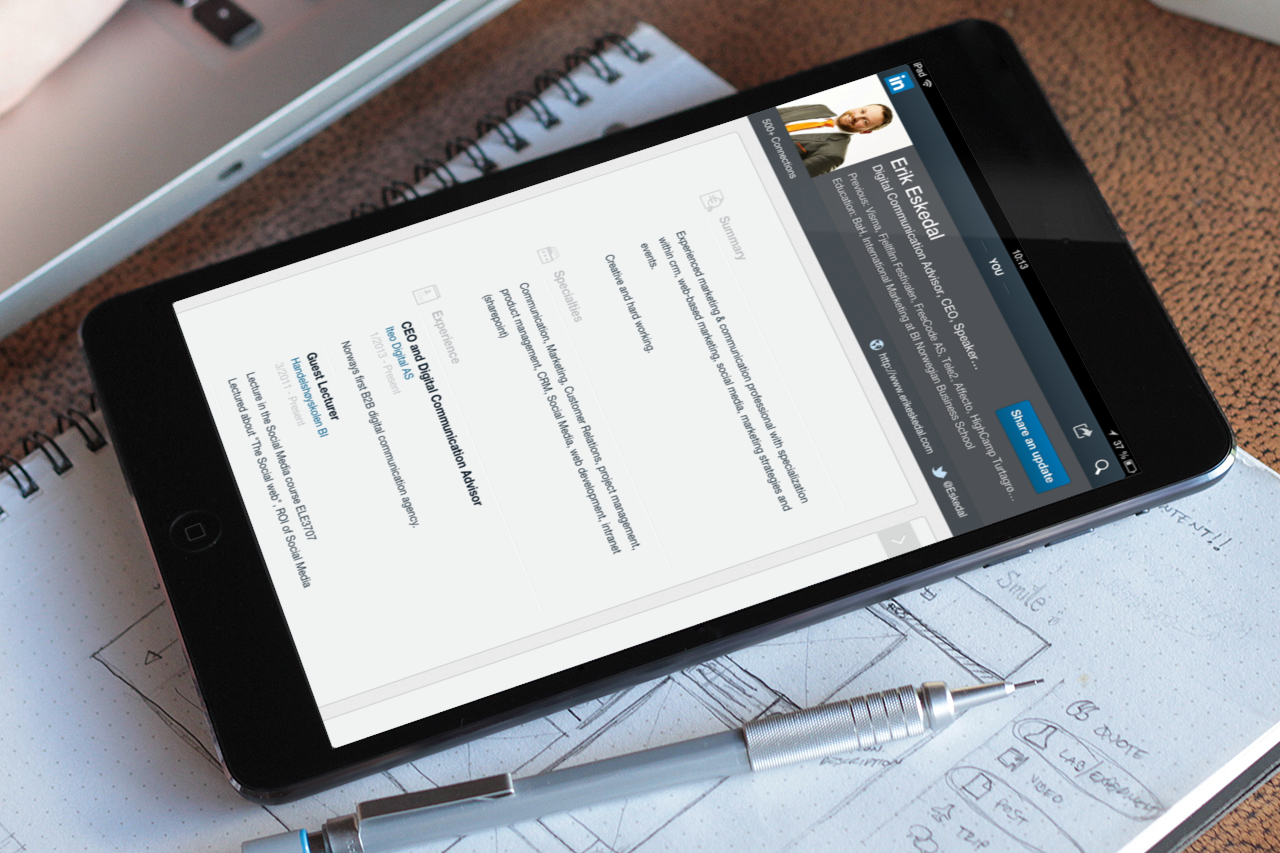 It's time to get serious – LinkedIn – the professional network