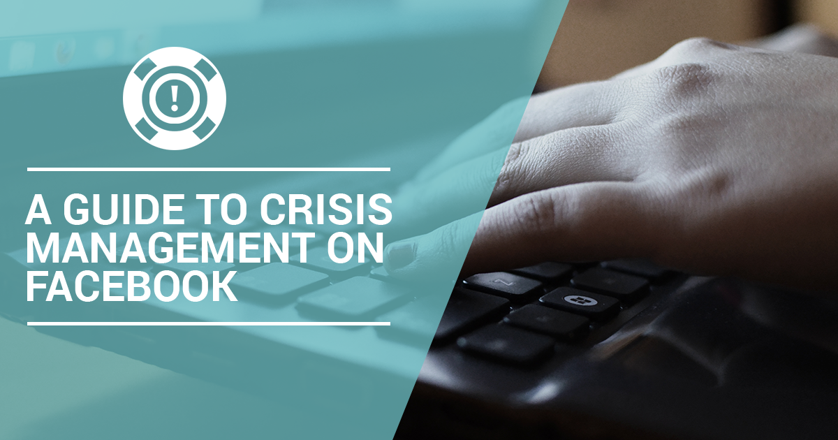 Crisis Management on Facebook