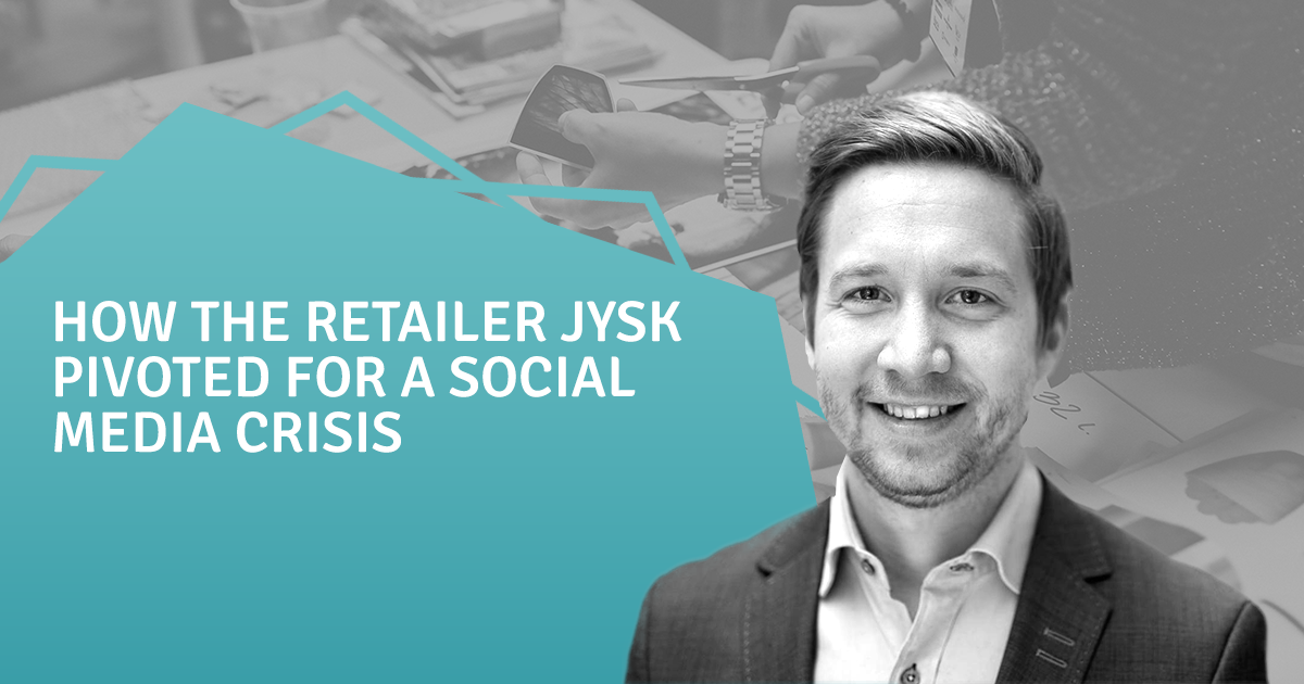 How the retailer JYSK pivoted for a social media crisis
