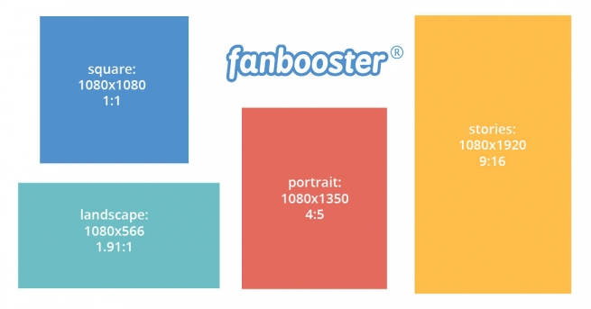 Instagram sizes and formats – cheat sheet